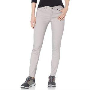 EUC prAna Kayla jeans in stone color. Size 12.